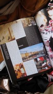 Página revista Vogue Italia/maio 2009
